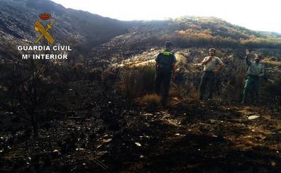 Detenido un vecino de Madrid como supuesto autor del incendio en La Cabrera en agosto de 2017