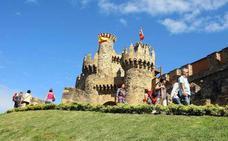 El castillo de Ponferrada registra su segunda cifra más alta de afluencia en un día