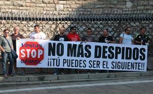 La plantilla de Vestas pide a Majo que medie para lograr una reunión con Juan Vicente Herrera