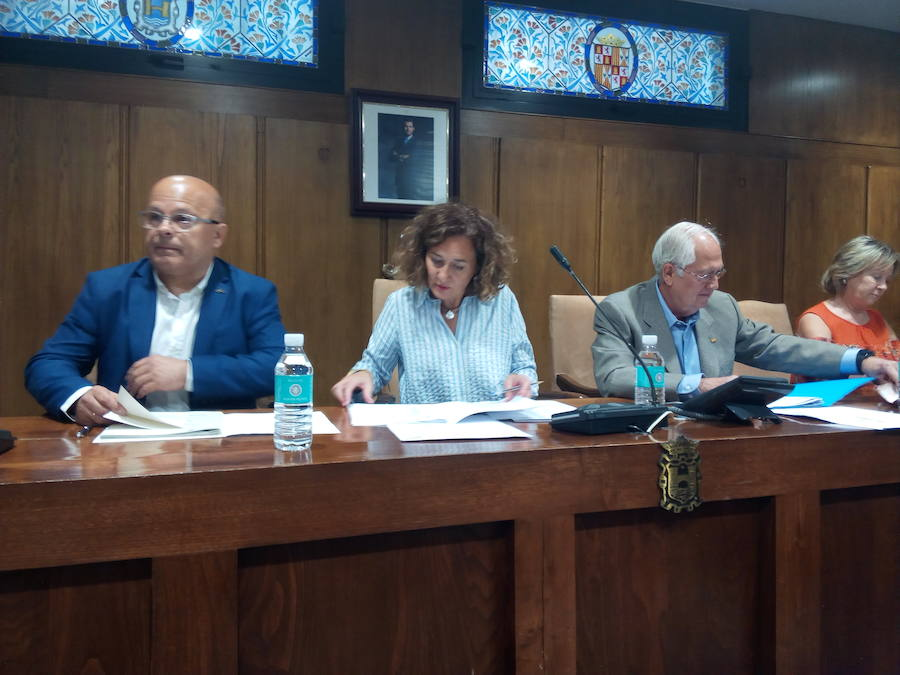 Primera visita institucional del subdelegado del Gobierno a Ponferrada