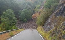 Diputación reabre al tráfico la carretera de acceso a Peñalba tras el corte provocado por las lluvias