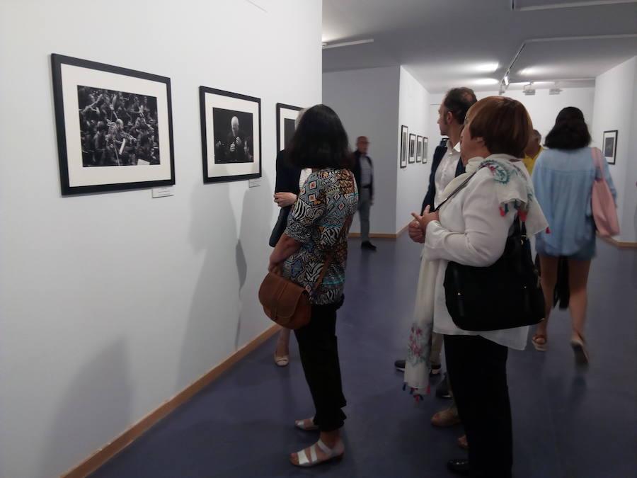 Exposición 'Cuando miro la música' en el Campus de Ponferrada