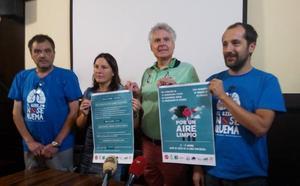 Plataformas contra la incineración de todo el país abordarán en El Bierzo el conflicto de la quema de ruedas en Cosmos