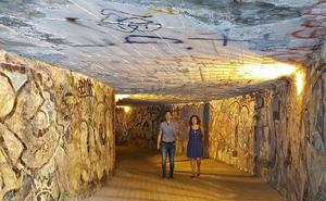 Adif garantiza la seguridad en el paso subterráneo del ferrocarril en el barrio de La Estación