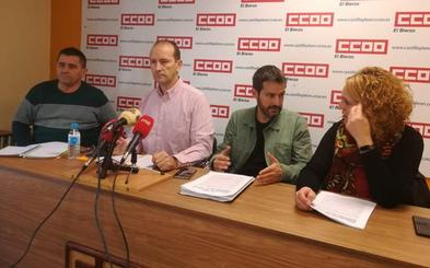 CCOO denuncia la existencia de un 25% de vacantes en las plazas de empleados públicos en El Bierzo