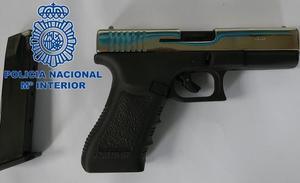 Detenido en Ponferrada por disparar con una pistola detonadora tras sufrir un accidente de tráfico