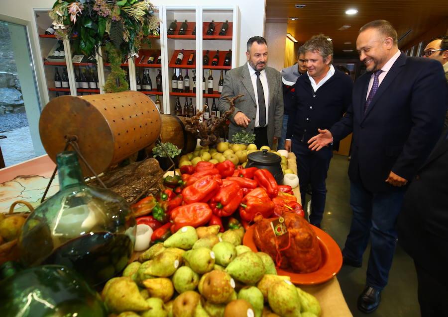 Inauguración de las Jornadas Gastronómicas del Bierzo
