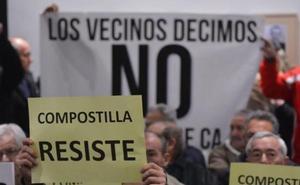 Los vecinos de Compostilla denuncian «actuación arbitraria» del Ayuntamiento en las obras de la red de calor
