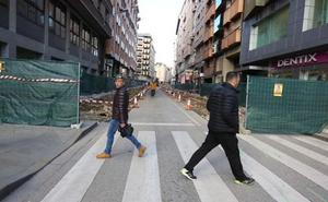 Ponferrada inicia este lunes la segunda fase de las obras de la calle Camino de Santiago