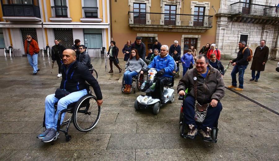 Paseo en silla de ruedas de AMBI
