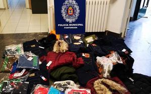 Un detenido y dos investigados en Ponferrada por presuntos delitos de falsificación y contra la propiedad industrial