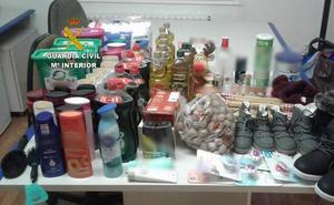 La Guardia Civil detiene a dos personas e investiga a otra por la sustracción de productos de alimentación en cinco supermercados del Bierzo