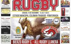 El equipo femenino de Bierzo Rugby disputa el Torneo de Navidad
