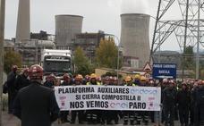 Maesa notifica el despido a siete trabajadores del parque de carbones de Endesa en la central térmica de Compostilla