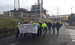 Los trabajadores de Endesa en El Bierzo se unen a la huelga nacional contra el bloqueo en la negociación del convenio