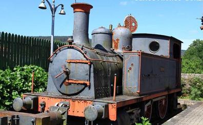 Ponferrada incorpora la histórica locomotora de vapor 'Sestao'