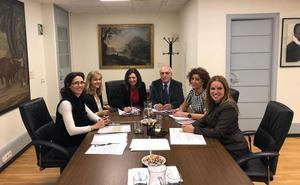 Representantes judiciales del Bierzo trasladan al Gobierno las necesidades del juzgado de Ponferrada