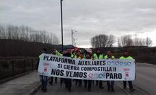 Las auxiliares de Endesa inician la huelga con una marcha para exigir una transición justa «para todos»