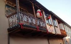 El balcón de la Navidad
