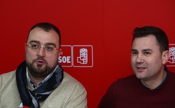 Infraestructuras, transición justa y Ciuden, ejes de la colaboración de los socialistas de León y Asturias