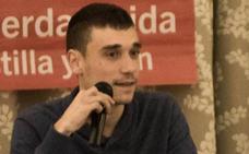 Un grupo de militantes de IU apoya a Manu Fernández en las primarias frente a Javier Arias