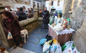 Cacabelos volverá a recoger alimentos para animales en la tradicional bendición de San Antón