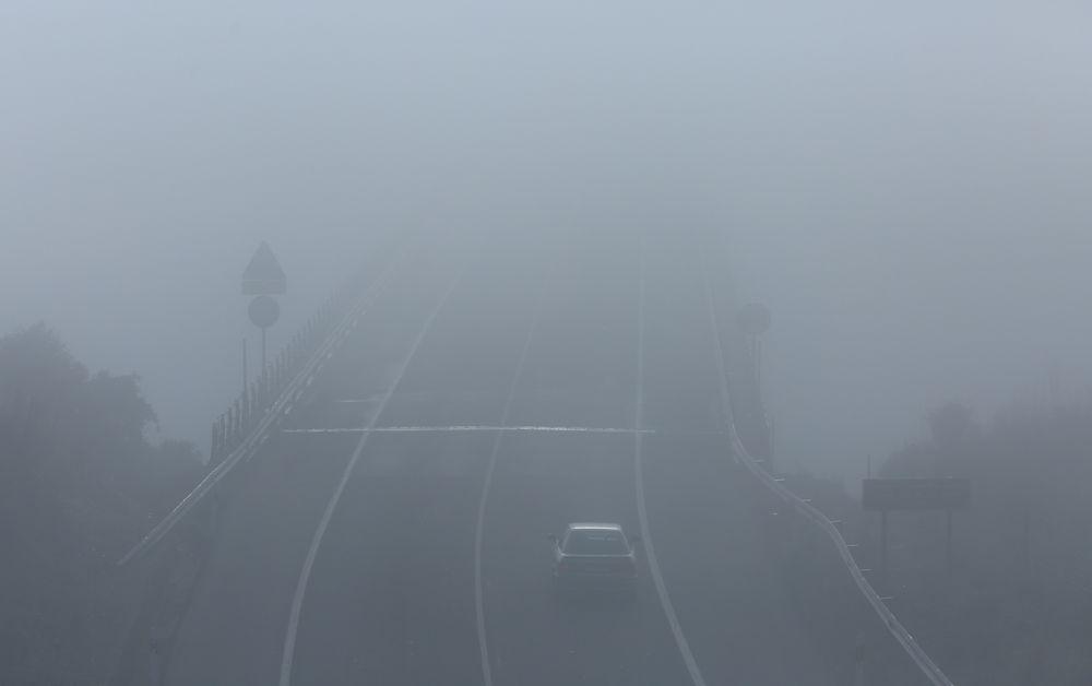 La niebla dificulta la visibilidad en buena parte de las carreteras de la provincia