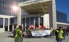 Los auxiliares de Compostilla piden un plan social que acabe con «las mentiras» de Endesa