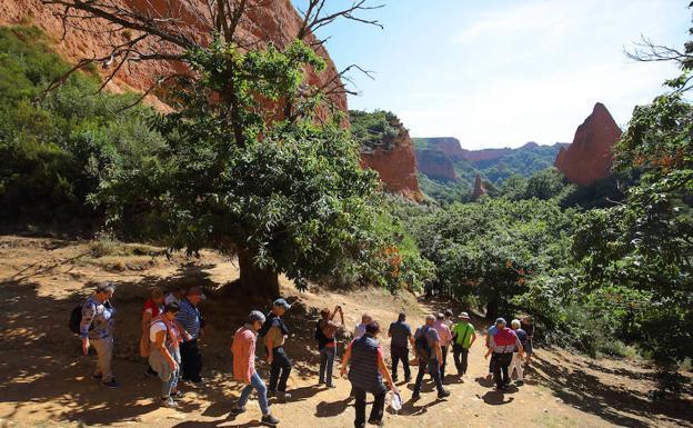 Las visitas Las Médulas bajan por primera vez en ocho años y cierran 2018 con 97.334 turistas