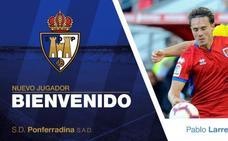El centrocampista Pablo Larrea ficha por la Ponferradina
