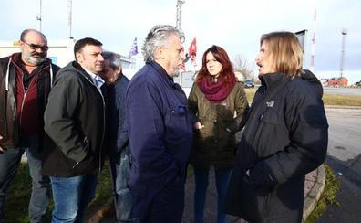 Pablo Fernández exige al Gobierno que incluya a los auxiliares de Compostilla en los planes de transición justa