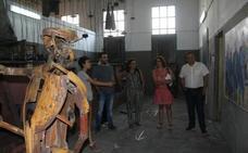 El arte de verano de Fabero se muestra en invierno en Madrid