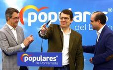 El presidente del PP regional critica el cierre de las térmicas y apuesta por la reindustrialización del Bierzo