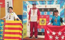 El berciano Héctor González Manuel, campeón de España infantil de tiro con arco compuesto
