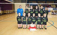 El Infantil CV Helps de Ponferrada, campeón de la Copa de Castilla y León alevín de voleibol