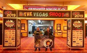 Dos bercianos participaron en Las Vegas en el mayor espectáculo del mundo de tiro con arco