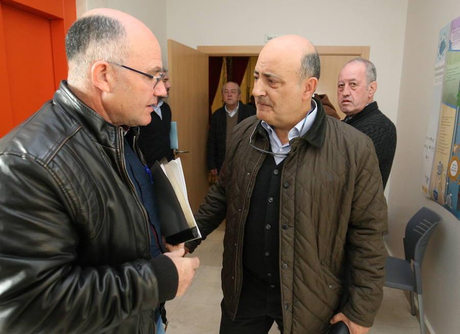 El presidente de la Miño-Sil, en El Bierzo