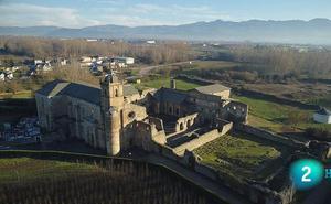 El Monasterio de Carracedo, protagonista en el Canal Internacional y en La 2 de TVE