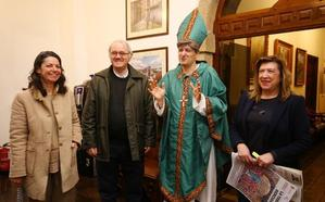 El obispo San Genadio protagoniza las visitas teatralizadas al monasterio de San Pedro de Montes