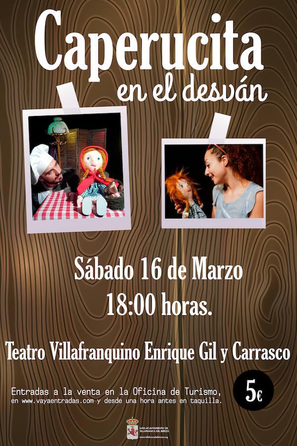 El espectáculo infantil 'Caperucita en el desván' llega este sábado al Teatro Enrique Gil y Carrasco de Villafranca del Bierzo