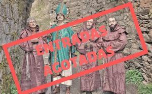Ponferrada estudia extender a Semana Santa las visitas teatralizadas al monasterio de Montes
