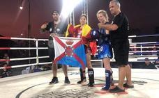 Oros para Blanca y Javi Romero en el Mundial de Muaythai de Tailandia