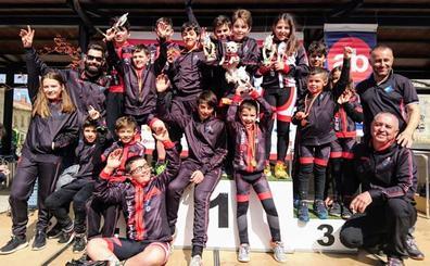 Bembibre BTT regresa con cuatro podios en la tercera prueba de la Copa de Escuelas