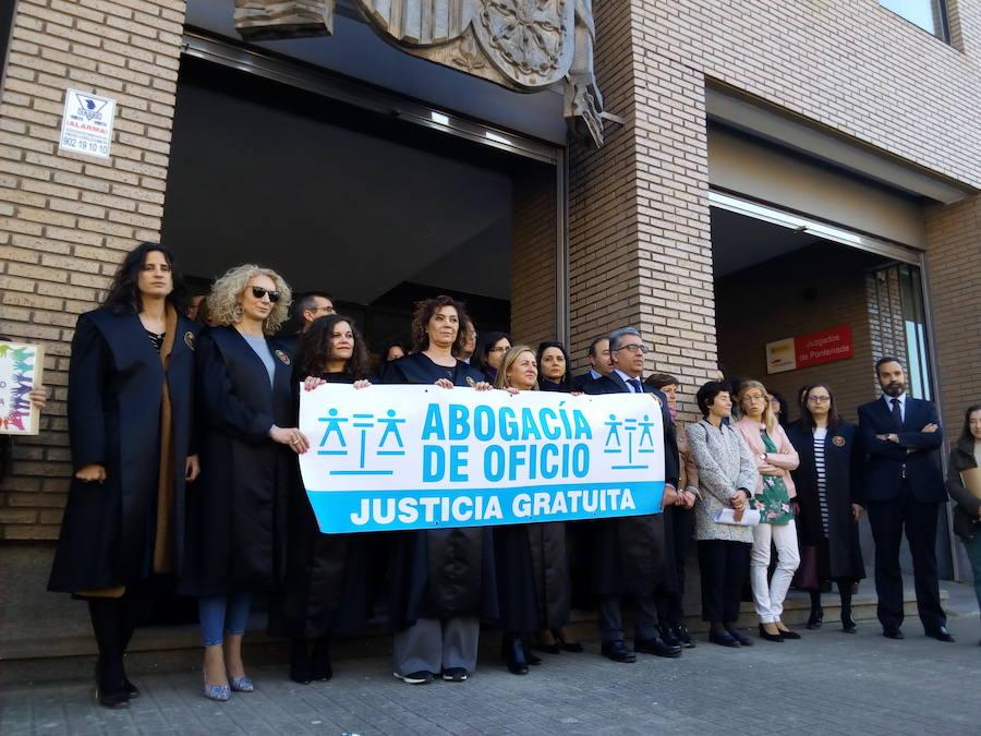 Los abogados del Bierzo se movilizan «por la dignidad del turno de oficio»