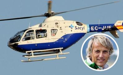 El aventurero Jesús Calleja evacuado en helicóptero al Hospital de León tras sufrir un accidente