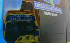 Dos personas trasladadas al Hospital tras sufrir un accidente de tráfico en Rodanillo