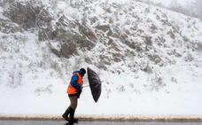 Las temperaturas caerán 10 grados en León y regresa la nieve a la provincia