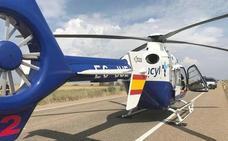 Herido un hombre tras volcar su turismo en la A-6 en Villafranca del Bierzo