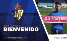 La Ponferradina incorpora al extremo Óscar Lozano para suplir a Guille Donoso
