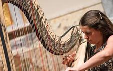 Concierto de arpa de Noelia Cotuna en la temporada de Juventudes Musicales